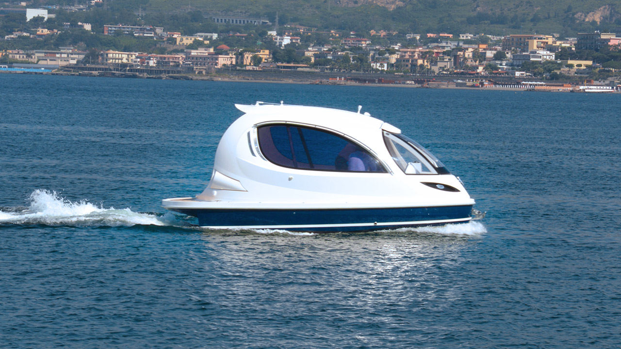 Since The Inidial Idea Of SeaJet Capsule Thanks To Mr Luca Solla Jet Is Now A Reality And Ready For Build Your